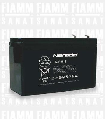 باتری نارادا 6-fm-7