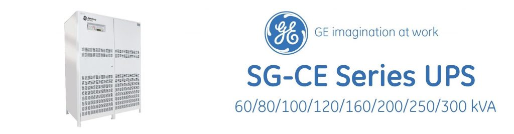 یو پی اس جنرال الکتریک (GE) سری SG-CE با توان 60 تا 300 کیلو ولت آمپر