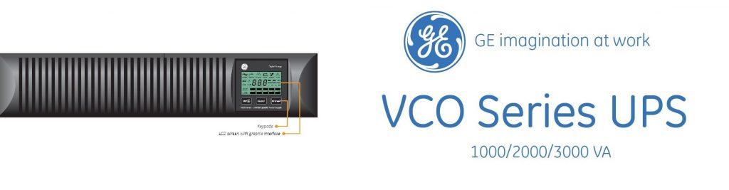یو پی اس جنرال الکتریک (GE) سری VCO با توان 1 تا 3 کیلو ولت آمپر