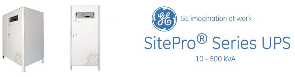 یو پی اس جنرال الکتریک (GE) سری Site Pro با توان 10 تا 500 کیلو ولت آمپر